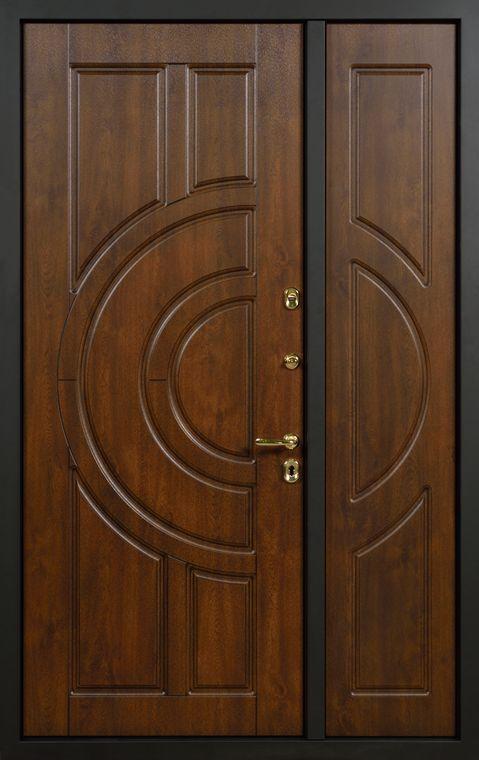 дверь стальная двупольная утеплённая